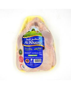 AL KHAZNA FRESH CHICKEN WHOLE TRAY - 1000 GM