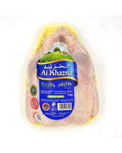 AL KHAZNA FRESH CHICKEN WHOLE TRAY - 1100 GM