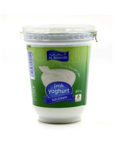 AL RAWABI Yoghurt Plain Full Fat 400 GM