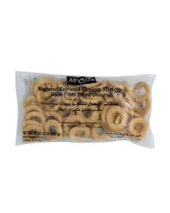 MCCAIN ONION RINGS EXTRUDED BATTERED 8 X 2 LB