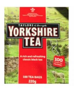 YORKSHIRE RED TEABAGS 100 X 2.2GM
