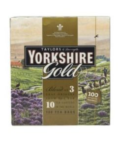 YORKSHIRE GOLD TEABAGS 100 X 2.4GM