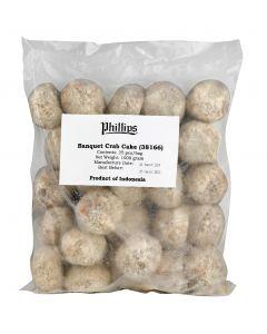 Phillips Banquet Crab Cake 40gm 25pcs