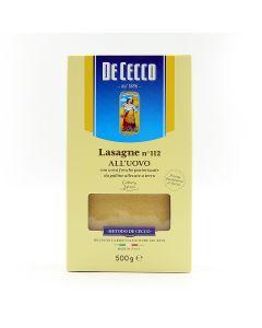 Dececco Lasagne White 500 gm