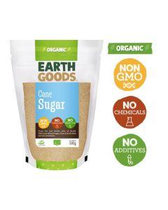 Earth Goods Organic Cane Sugar 500GM