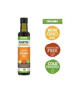 Earth Goods Organic Toasted Sesame Oil 250GM