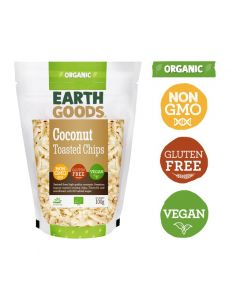 Earth Goods Organic Toasted Coconut Chips 100GM
