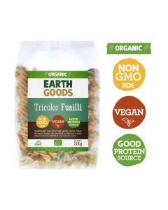Earth Goods Organic Tricolor Fusilli 500GM