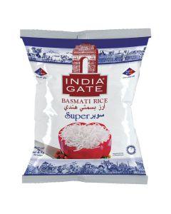 INDIA GATE SUPER BASMATI WHITE RICE2 KG