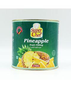 SUPER CHEF PINEAPPLE FRUIT FILLING 2.7 KG