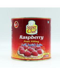 SUPER CHEF RASPBERRY FRUIT FILLING 2.7 KG