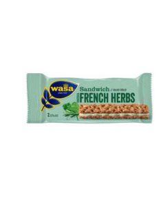WASA SANDWICH CHEESE & FRENCH HERBS 30GM