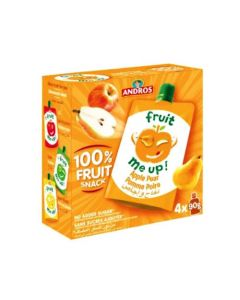 ANDROS FRUIT ME UP APPLE PEAR 4X90GM