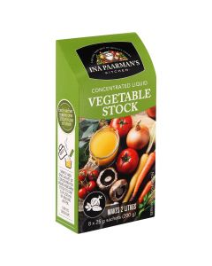 INA PAARMAN'S VEGETABLE STOCK CONCENTRATED LIQUID 8X25GM