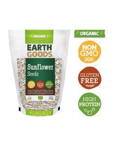 Earth Goods Organic Sunflower Seeds, Gluten-Free 340GM