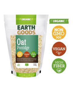 Earth Goods Organic Oat Porridge Gluten-Free 500GM