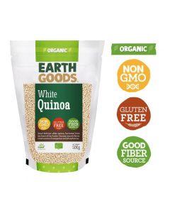 Earth Goods Organic White Quinoa Gluten-Free 500GM