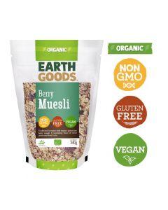 Earth Goods Organic Gluten-Free Berry Muesli 340GM