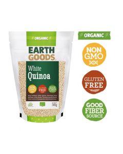 Earth Goods Organic White Quinoa Gluten-Free 340GM