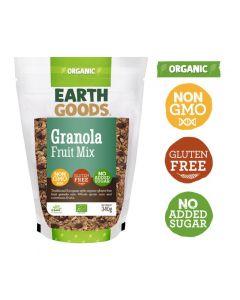 Earth Goods Organic Gluten-Free Fruit Granola Mix 340GM