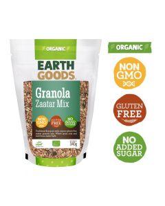 Earth Goods Organic Gluten-Free Zaatar Granola Mix 340GM