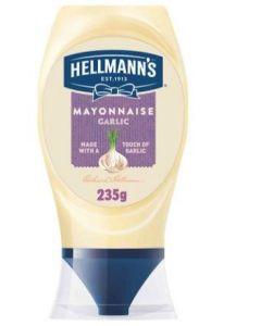 HELLMANN'S MAYONNAISE GARLIC 235GM