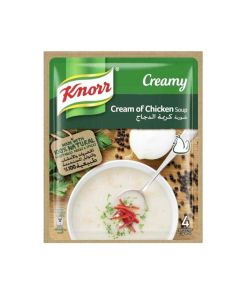 KNORR PACKET SOUP CREAM OF CHICKEN 54GM