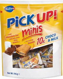 Bahlsen Chocolate Pick Up! Choco minis and Milk