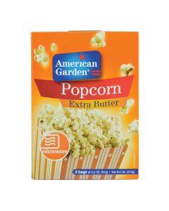 American Garden Microwave Popcorn Extra Butter