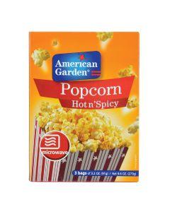 American Garden Microwave Popcorn Hot & Spicy