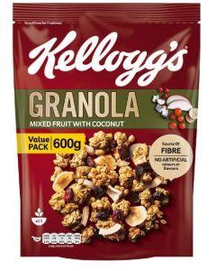KELLOGG'S GRANOLA FRUITS 600GM