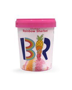 BASKIN ROBBINS RAINBOW SHERBET1 LTR