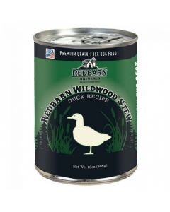 Red Barn Natural Duck Wildwoods Stew Dog Food-Skin & Coat Support 13oz