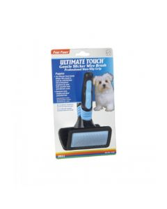 Four Paws Ultimate Touch Slicker Wire Brush for Puppies, Gentle