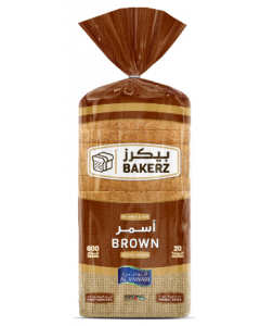 AL RAWABI SLICED BREAD - BROWN (600 GMS)