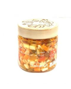 ITALTOUCH Vegetable Rainbow: Marinated Vegetable in oil 220 gm