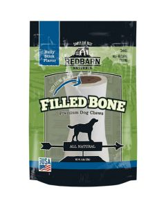 Red Barn Natural Filled Bone Bully Small