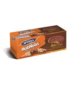 McVities Hobnobs Milk Chocolate 300 Gm