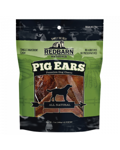 Red Barn  Pig Ears Natural Wrapped 18.4g 5 COUNT