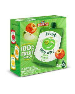 ANDROS FRUIT ME UP APPLE 4X90GM