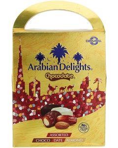 Arabian Delights chocodates with almonds