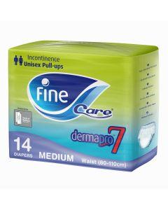 Fine Care Incontinence Unisex Pull-ups, Waist (80 - 110 cm), Medium, pack of 14