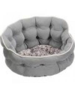 """""""SmartyKat® Crown Comfort™ 17x 17x 9 Round Pet Bed """""""