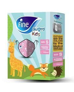 Fine Face Mask Guard Comfort Kids Pink/Orange Small