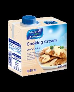AL MARAI COOKING CREAM  SCREWCAP FULL FAT 250 ML