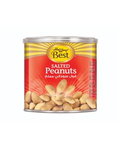 BEST SALTED PEANUTS CAN 300 GM