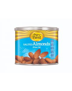 BEST SALTED ALMONDS CAN 110 GM