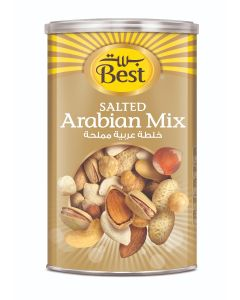 BEST SALTED ARABIAN MIX CAN 350 GM