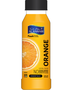 AL RAWABI Freshly Squeezed Orange 330ml
