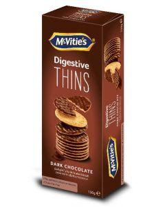 McVities Dark Chocolate Thins 150 Gm